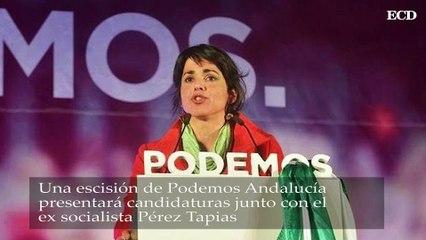 Una esición de Podemos Andalucía presentará candidaturas junto con el ex socialista Pérez Tapias