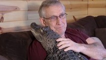 Man Uses Emotional Support Alligator As Anti-Depressant