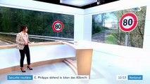 Sécurité routière : Édouard Philippe défend les 80 km/h