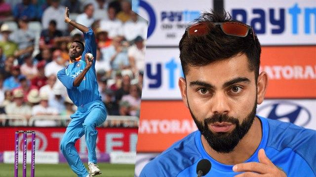 Virat Kohli reacts on Hardik Pandya, says Good to have Hardik Pandya back| वनइंडिया हिंदी