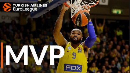 MVP for January: Alex Tyus, Maccabi FOX Tel Aviv