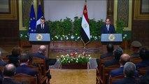 Conférence de presse avec Abdel Fattah al-Sissi, Président de la République arabe d'Égypte
