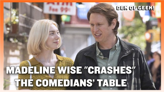 "Crashing Season 3 - Madeline Wise ""Crashes"" The Comedians Table"