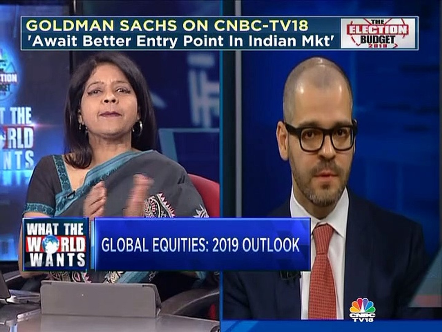 Looking for a better entry point in the Indian market, says Caesar Maasry  of Goldman Sachs