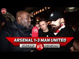 Arsenal 1-3 Man United | Sokratis Coming Of Made A Real Difference! Koscielny Is Finished! (Turkish)