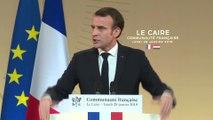 Discours du Président de la République, Emmanuel Macron, à la communauté française d'Égypte