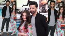 Sanjeeda Sheikh and Aamir Ali look perfect at Dabboo Ratnani Calendar 2019 launch; Watch |FilmiBeat