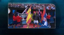 Tennis   open d'Australie: Novak Djokovic grand roi face à Rafael Nadal