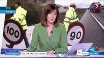 Eurozapping : les routes en Espagne limitées à 90 km/h, des poules OGM pour soigner au Royaume-Uni