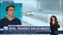 Vitesse, freinage... Quelle conduite adopter sous la neige ?