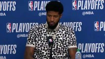 Paul George Postgame conference   Thunder vs Jazz Game 6   April 27 , 2018   NBA Playoffs