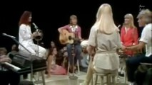 Andy Gibb, Olivia Newton John and ABBA in Live Help Me, Rhonda