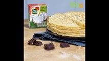 Recette de la pâte à crêpes au lait de coco - 750g