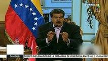 Pdte. venezolano asegura que su país es víctima de robo en EE.UU.