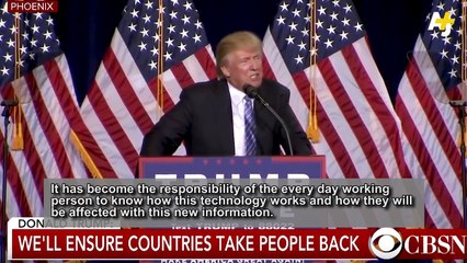 Welcome to Trump's New America(Facial Recognition Software)