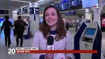Neige : l'aéroport d'Orly annule plusieurs vols
