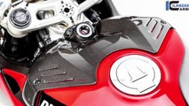 New Ducati Panigale V4 View 3 Beautiful  Carbon Version 2019 | Mich Motorcycle