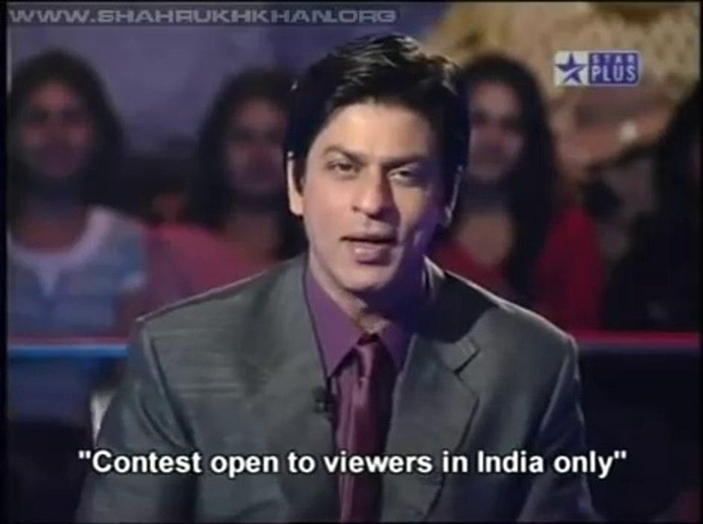 Shahrukh Khan KBC