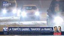 De la Normandie à Paris, la neige a recouvert routes et paysages