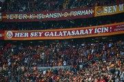 """Galatasaray Tribünleri Boluspor Maçında """"Taraftar Çıldırdı Forvet İstiyor"""" Tezahüratında Bulundu"""