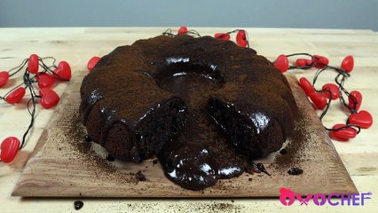 Chocolate Molten (Lava) Cake With Coffee