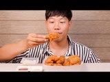 BBQ 황금올리브 치킨 이팅사운드 ASMR *말없음   Korean chicken Eating sound ASMR *No talking   BBQ olive chicken