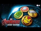 어벤져스 아이싱 쿠키 만들기 How to Make Avengers Icing Cookies! - Ari Kitchen