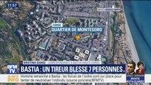 Un tireur a blessé sept personnes dans les rues de Bastia