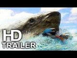 THE MEG Megalodon (FIRST LOOK - Beach Scene Clip NEW) 2018 Jason Statham Shark Movie HD