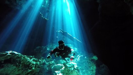 Sport Diver in the Field: The Tajma Ha Cenote, Playa Del Carmen