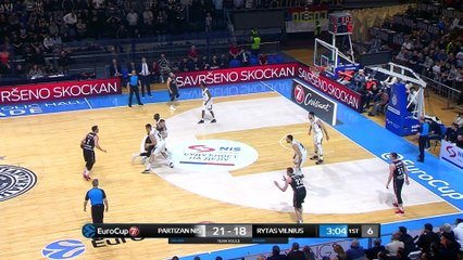 7Days EuroCup Highlights Top 16, Round 5: Partizan 77-78 Rytas