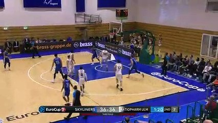 7Days EuroCup Highlights Top 16, Round 5: Skyliners 68-81 Ulm