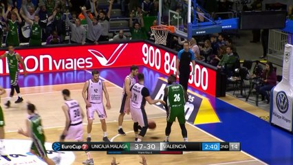7Days EuroCup Highlights Top 16, Round 5: Unicaja 69-72 Valencia