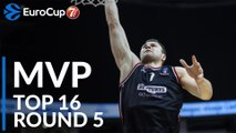 7DAYS EuroCup Top 16 Round 5 MVP: Artsiom Parakhouski, Rytas Vilnius