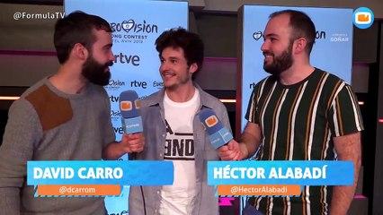 """Miki Nunyez, representante de España en Eurovisión 2019:  """"La puesta en escena debe más atrevida que otros años"""""""
