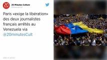 Venezuela. Deux journalistes de « Quotidien » arrêtés, l'Union européenne exige leur libération