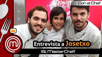 "Josetxo, ganador de 'MasterChef Junior 6': ""Intentaré presentarme a 'MasterChef' de adultos"""