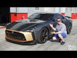 $1.2m Nissan GT-R50 by Italdesign on Track! | FIRST DRIVE