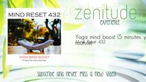 Mind Reset 432 - Yoga mind boost - 5 minutes yoga routine