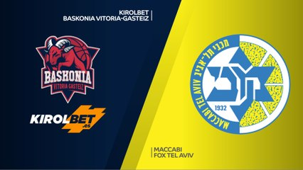 EuroLeague 2018-19 Highlights Regular Season Round 21 video: Baskonia 97-73 Maccabi