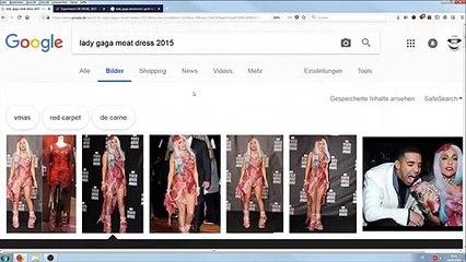 Das Rätsel um Lady Gagas Fleischkleid gelöst. #PIZZAGATE