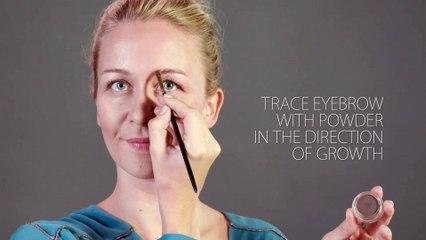 emphasising eyebrows