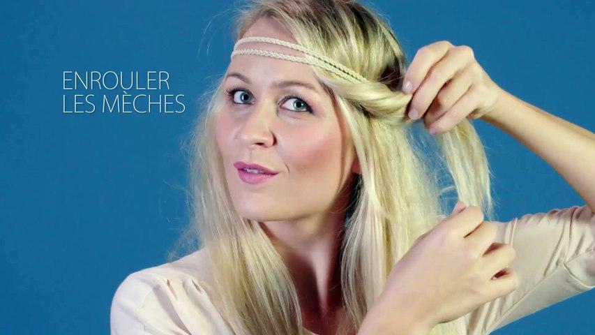 Tuto - Comment réaliser une coiffure avec un headband ?