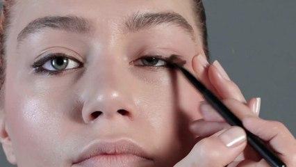Le maquillage métallique