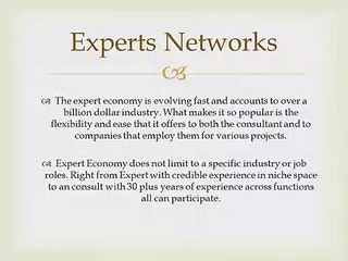 Ask The Experts| Expert Advice With Experts Networks