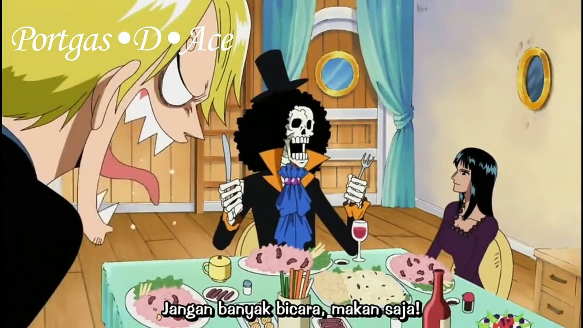 One Piece - Funny Moments Brook
