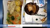 Un compte Instagram répertorie tous les plats proposés dans les avions et ça fait beaucoup réagir !