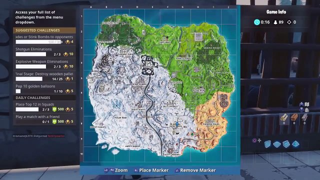Prayoga: Most Wooden Pallets In Fortnite Locations