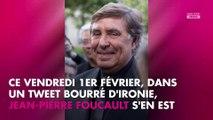 Jean-Pierre Foucault s'en prend de nouveau à Charles Consigny sur Twitter !
