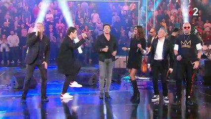 """Taratata"" : Zazie, Pascal Obispo et Patrick Bruel chantent ""Je te donne"""